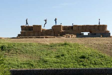 Strawbale Fortress